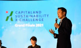 CapitaLand unveils S$50 million innovation fund and crowns winners of first CapitaLand Sustainability X Challenge