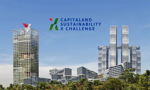 CapitaLand Sustainability X Challenge unveils greentech startup finalists to pilot their innovations at CapitaLand properties
