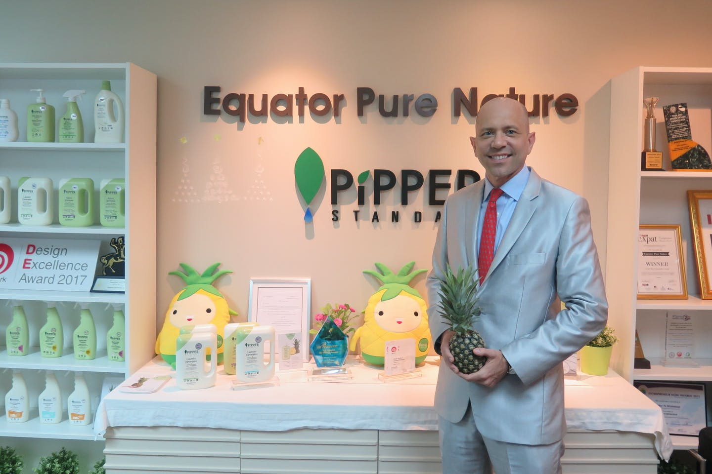 Pipper Standard awarded multiple patents in China for natural cleaning technology