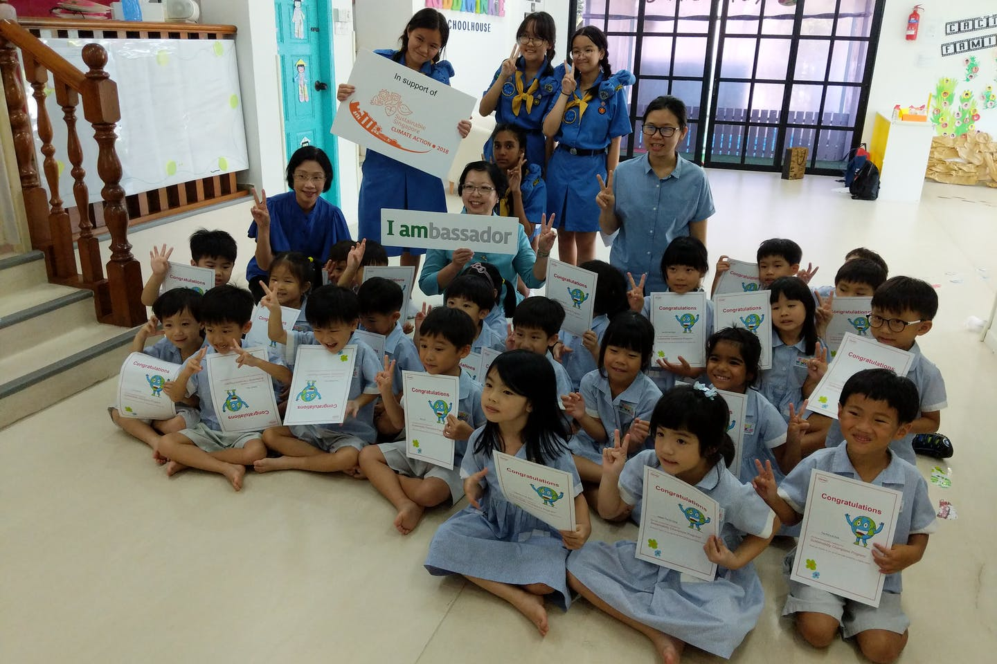 Developing young sustainability champions