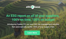 ethiXbase launches GreenLITE – a new ESG risk management solution