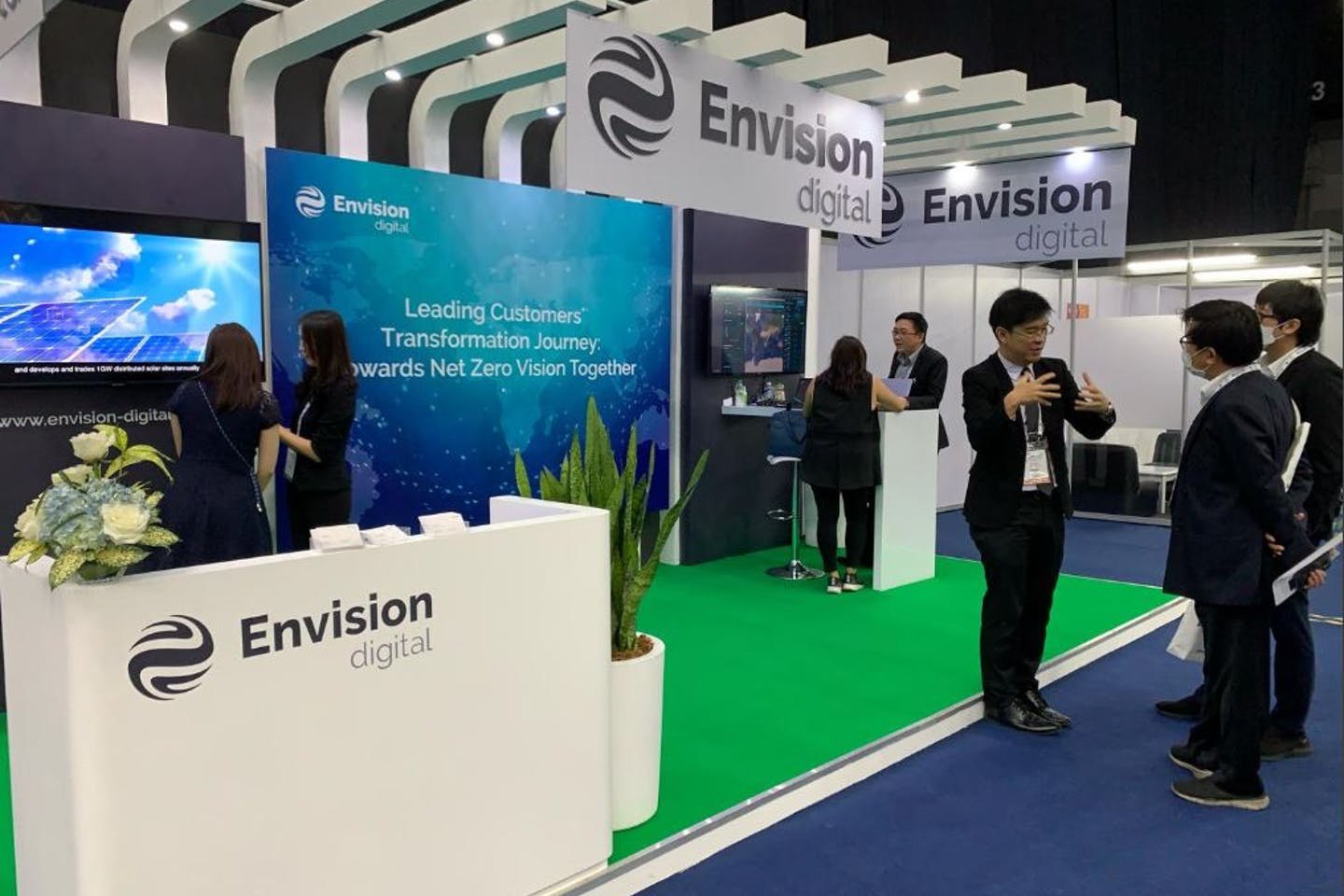 Envision Digital appointed to develop first AIoT Smart Grid  for PTT in Thailand Eastern Economic Corridor