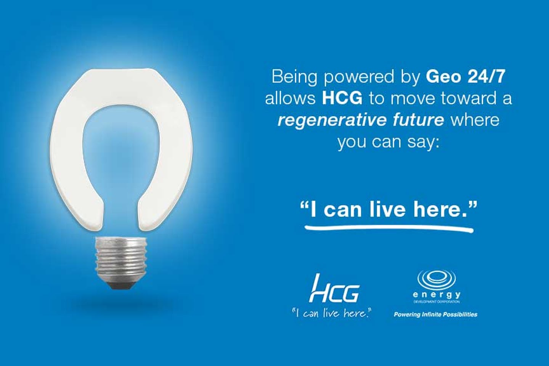 Powering HCG's bathroom solutions with Geo 24/7