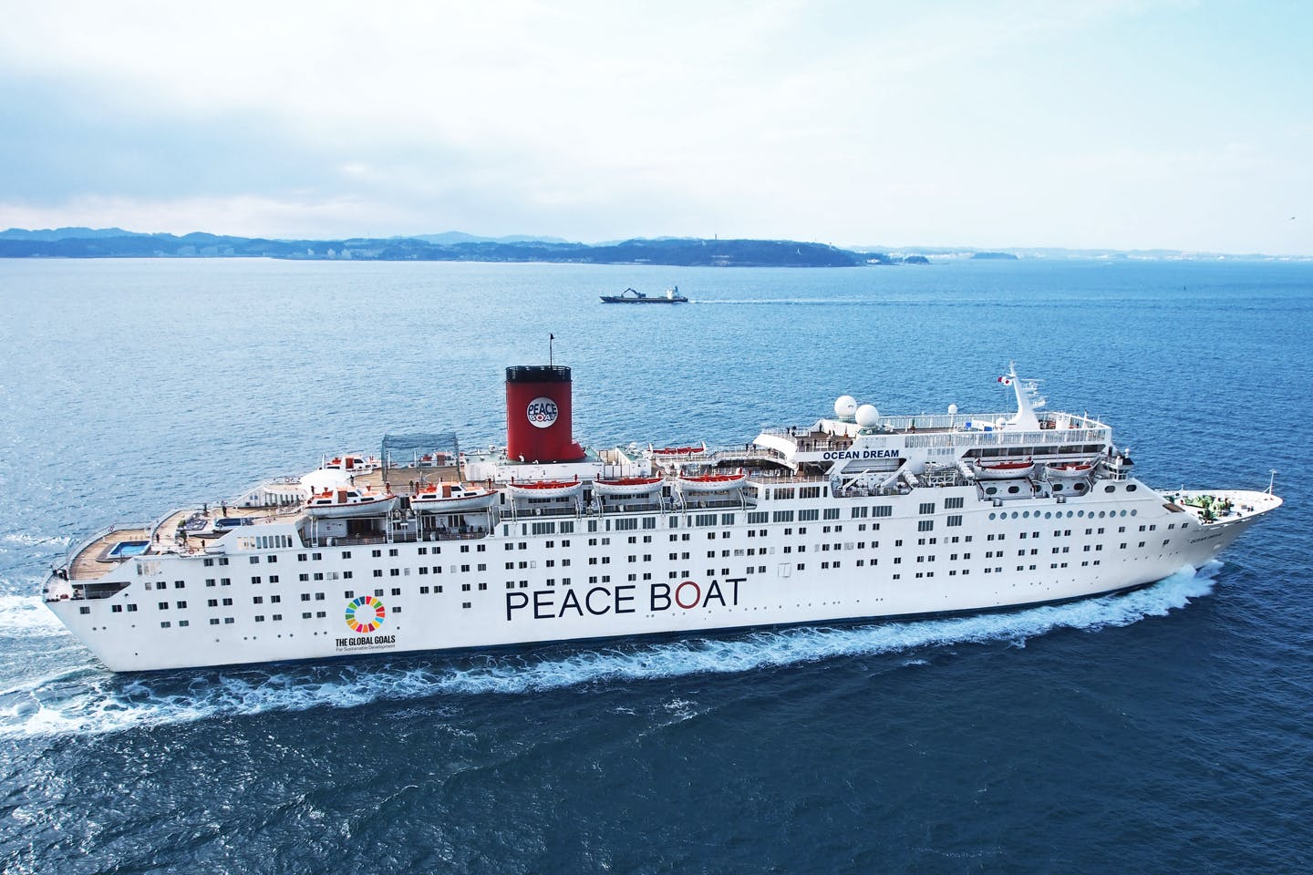 Partners in sustainable development: Liter of Light joins Peace Boat's 100th voyage