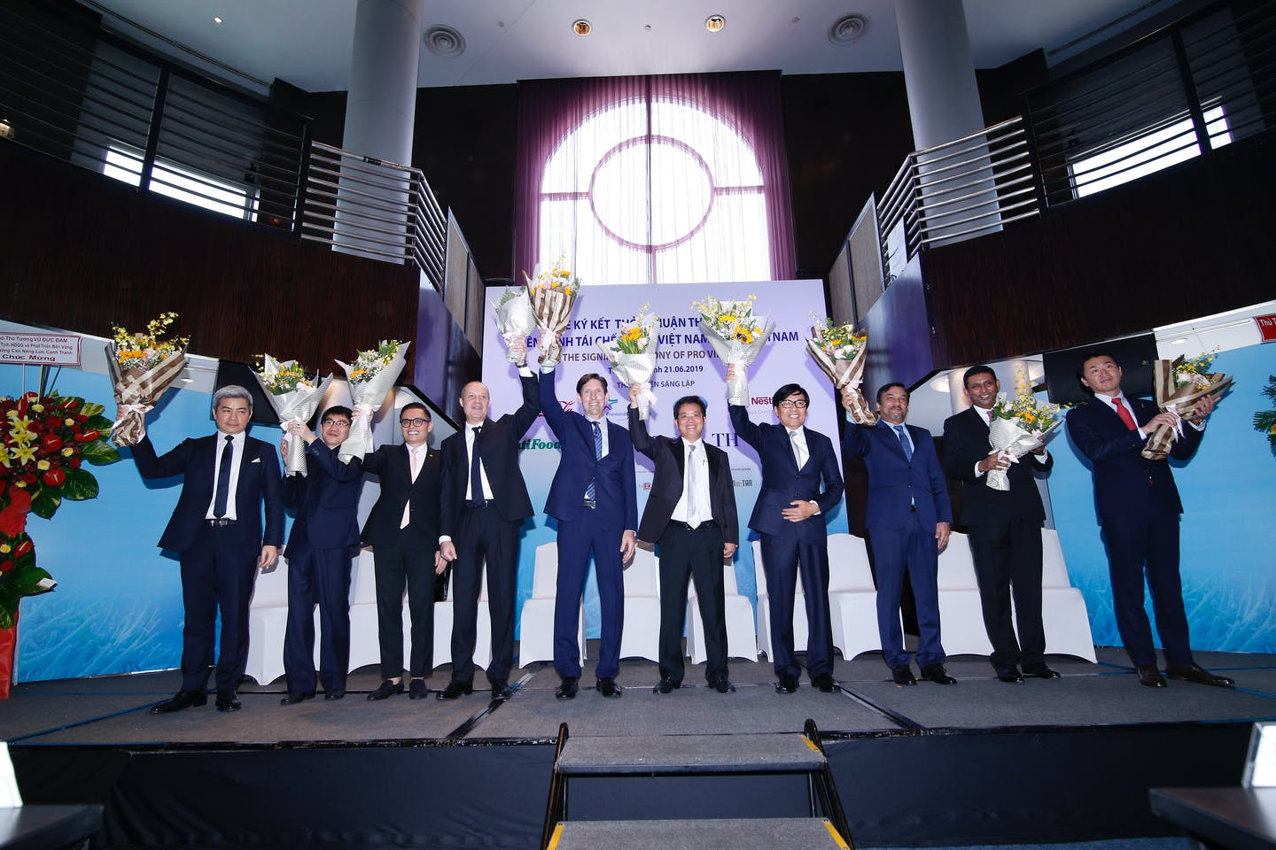 Nine consumer goods firms forge recycling coalition in Vietnam