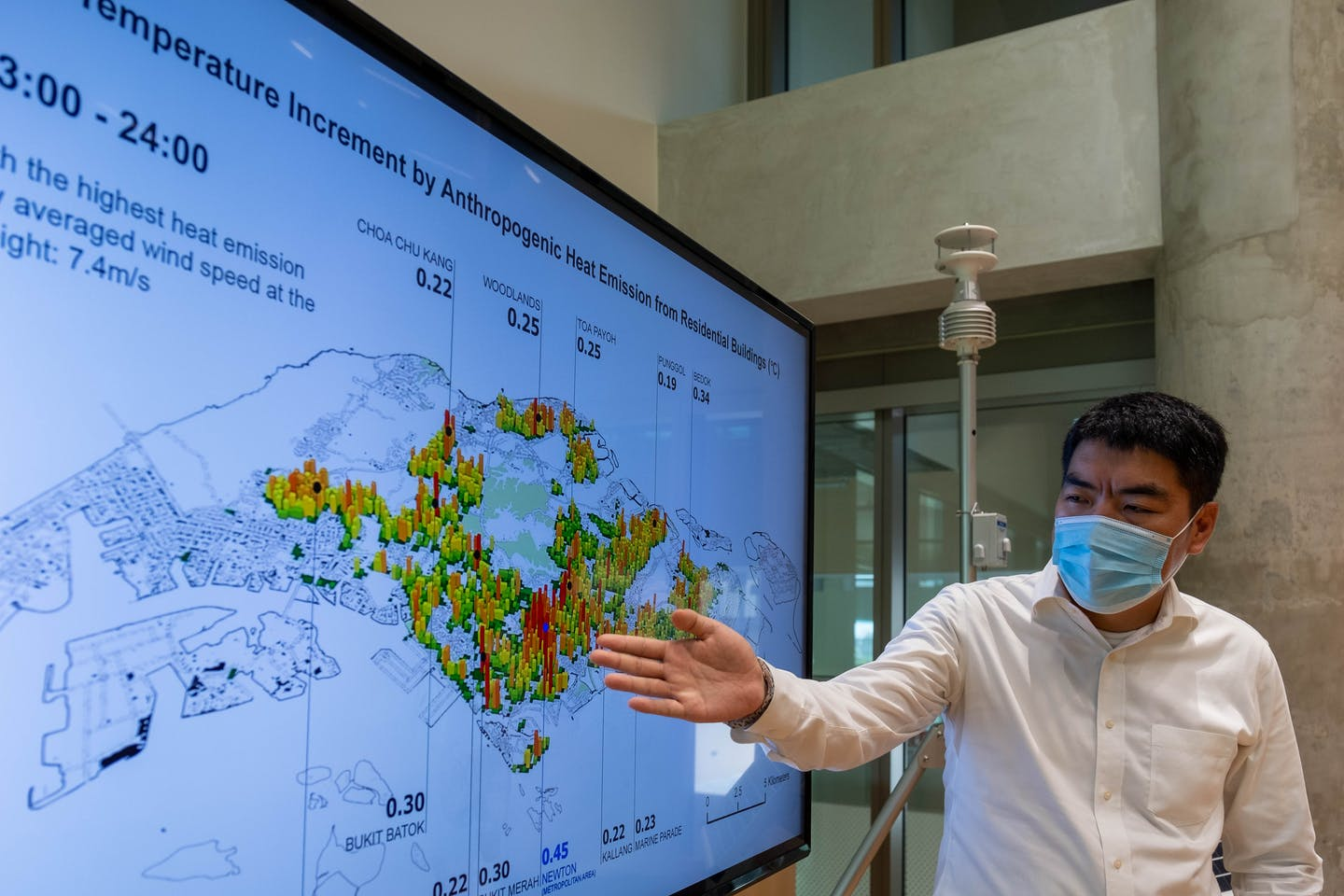 NUS researchers develop new urban planning GIS tool to improve urban climate resilience