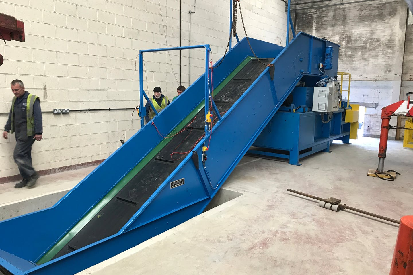 Polymer Industries selects Middleton Engineering baling solution for its new recycling arm