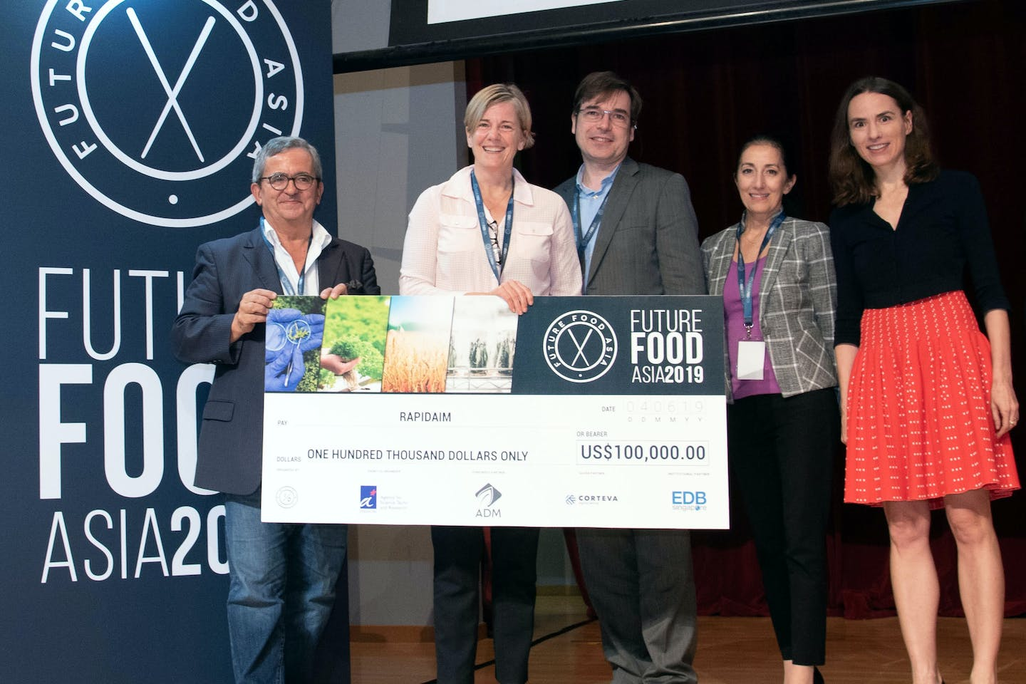 2019 winners announced for Future Food Asia