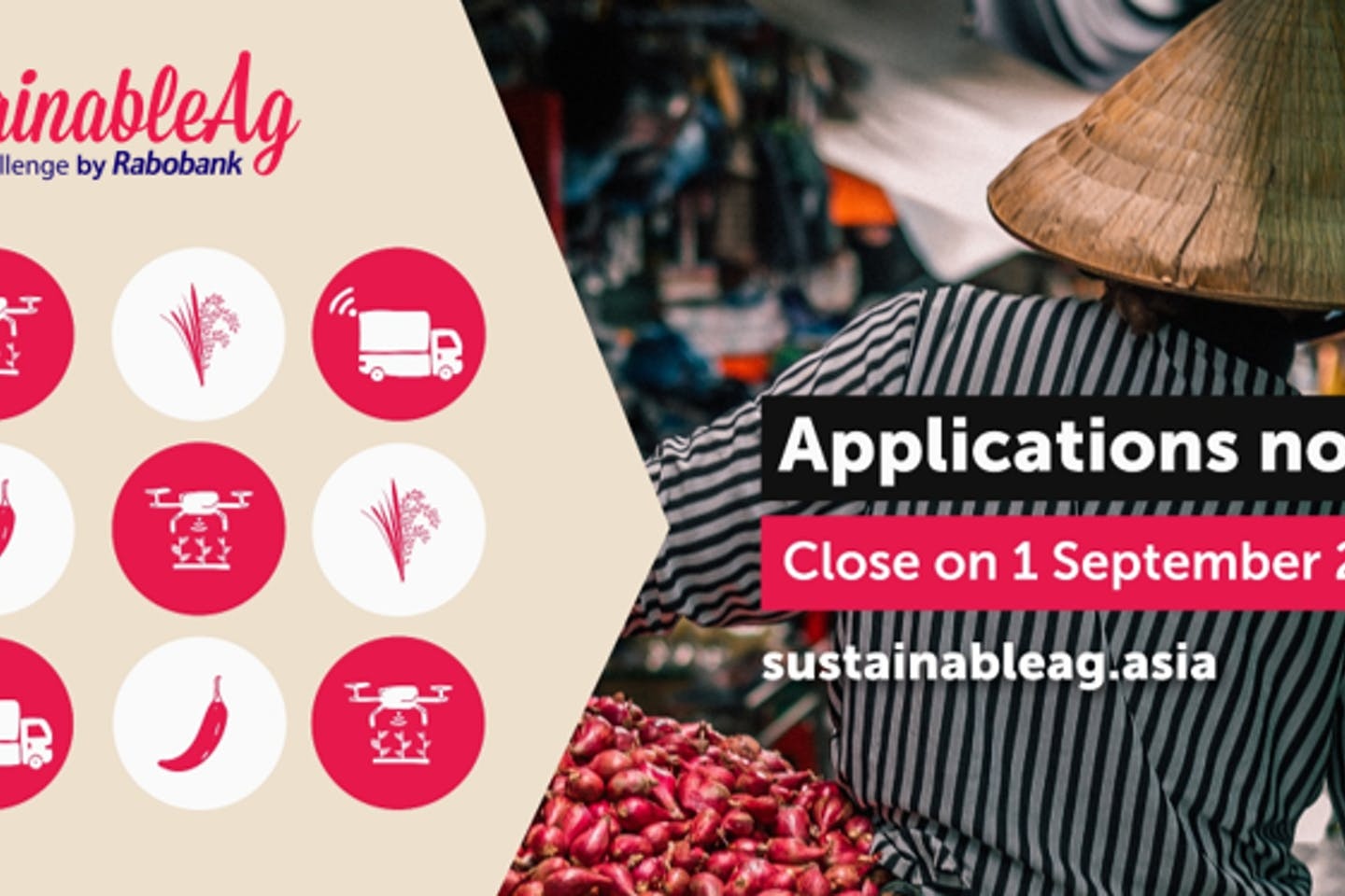 Rabobank launches SustainableAg Asia Challenge for Agtech companies