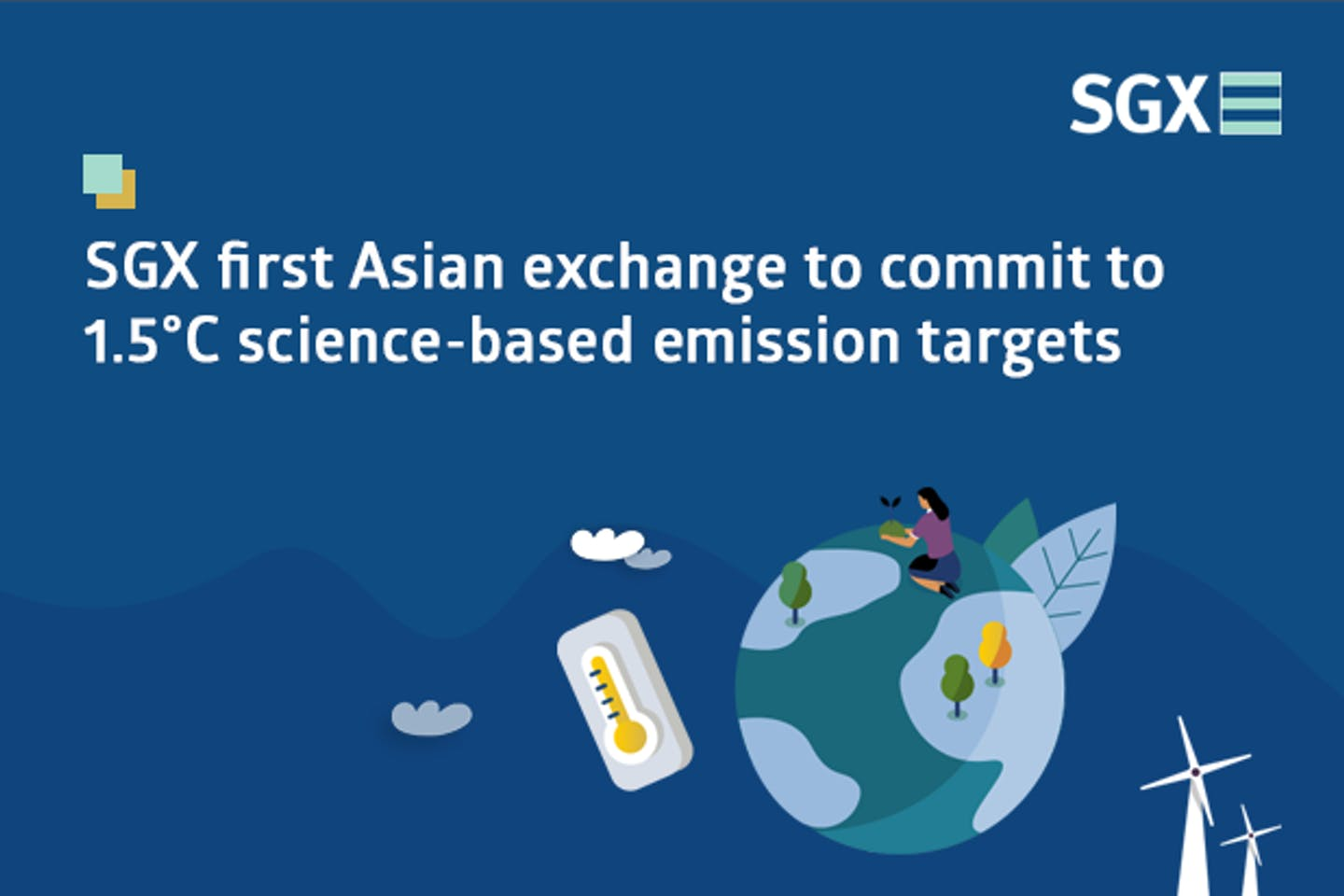 SGX first Asian exchange to commit to 1.5°C-aligned science-based emission reduction targets