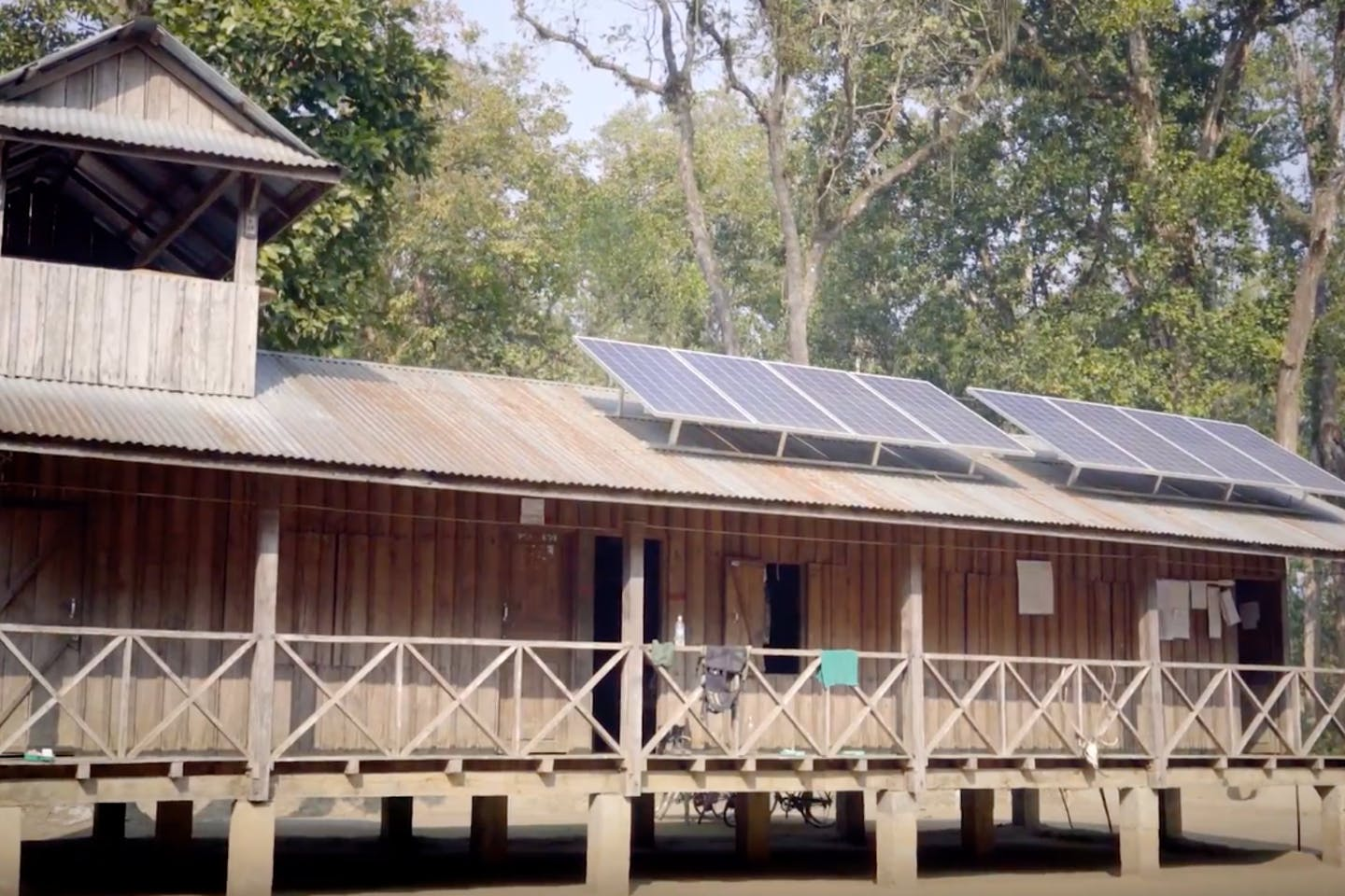 Solar energy empowers villagers and saves wildlife in Nepal