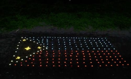 Light It Forward: Liter of Light to unveil its first milestone, a Philippine flag made from 1,000 solar lights
