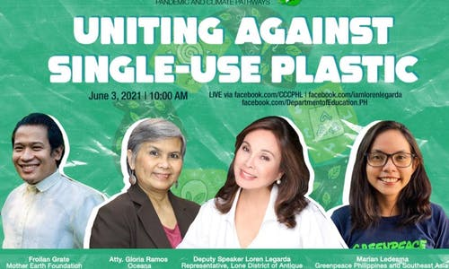 Uniting against single-use plastic in 47th episode of 'Stories for a Better Normal' series