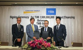 TMB Bank PLC backs Southeast Asian solar power producer Constant Energy with up to US$50 million loan facility