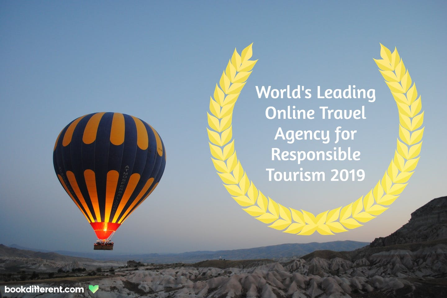 bookdifferent.com is World's Leading Online Travel Agency for Responsible Tourism