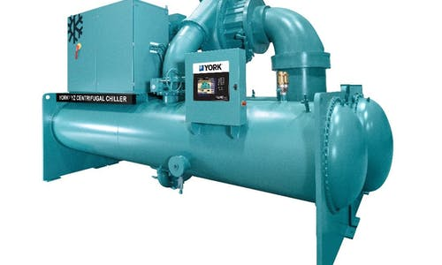 YORK® YZ Magnetic Bearing Centrifugal Chiller expands capacity range