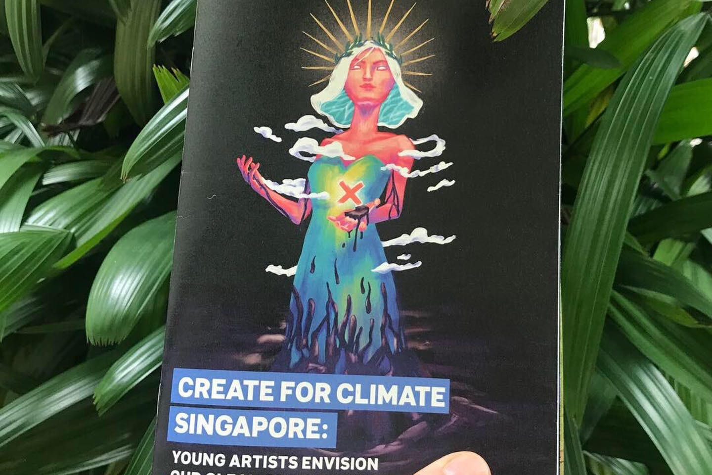 Launch and dissemination of Create for Climate Art Competition Catalogue—with diverse contributions from young artists