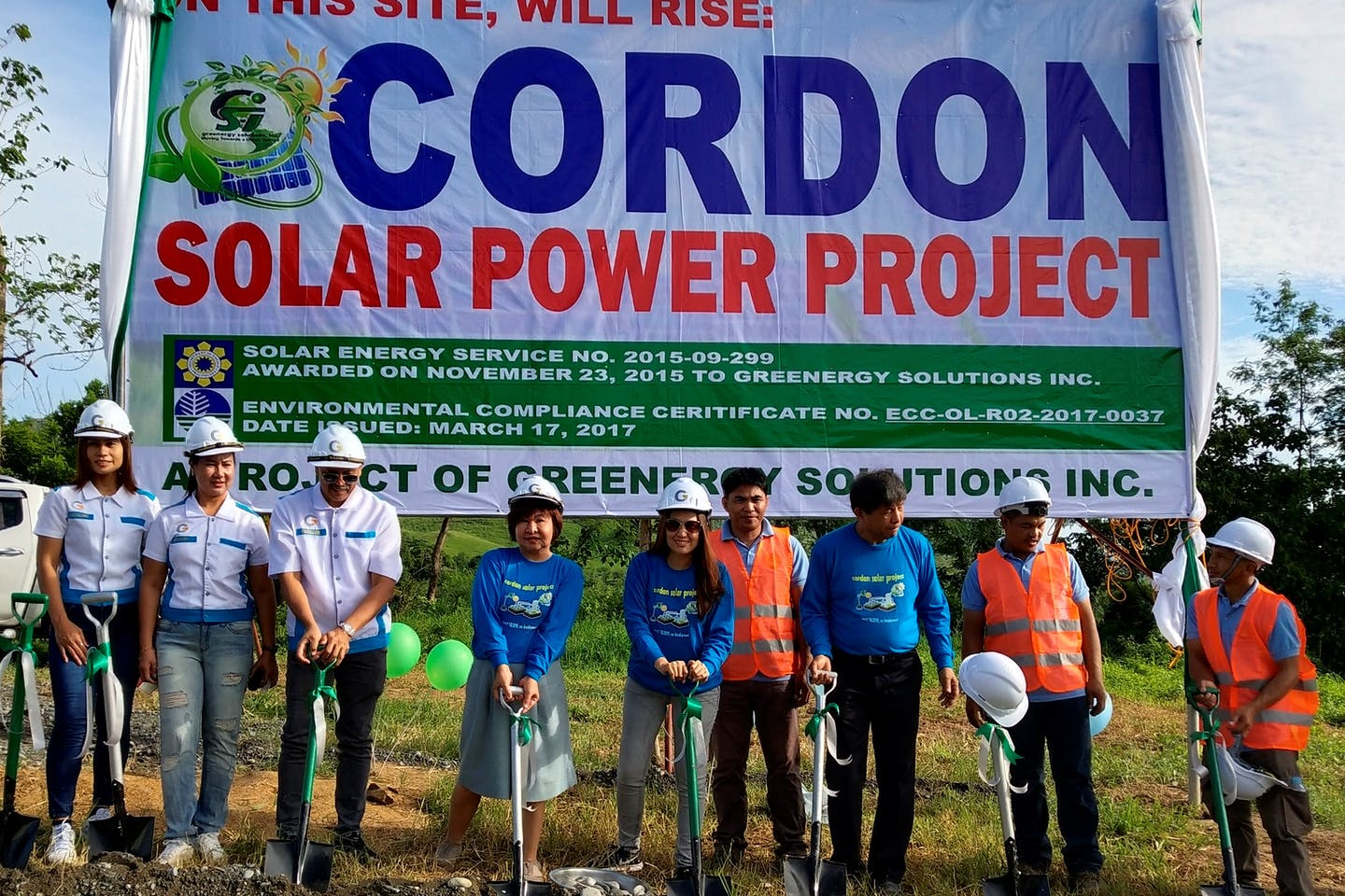 Greenergy breaks ground for 200-MW solar plus storage project in Isabela