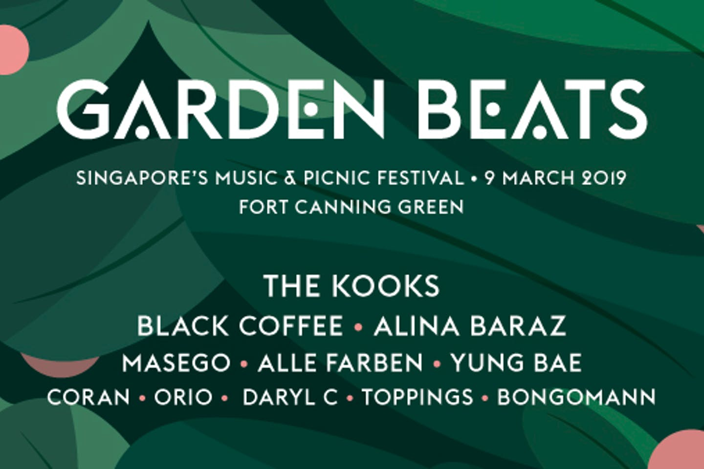 Garden Beats 2019 steps up to become Singapore's first carbon-neutral music fest