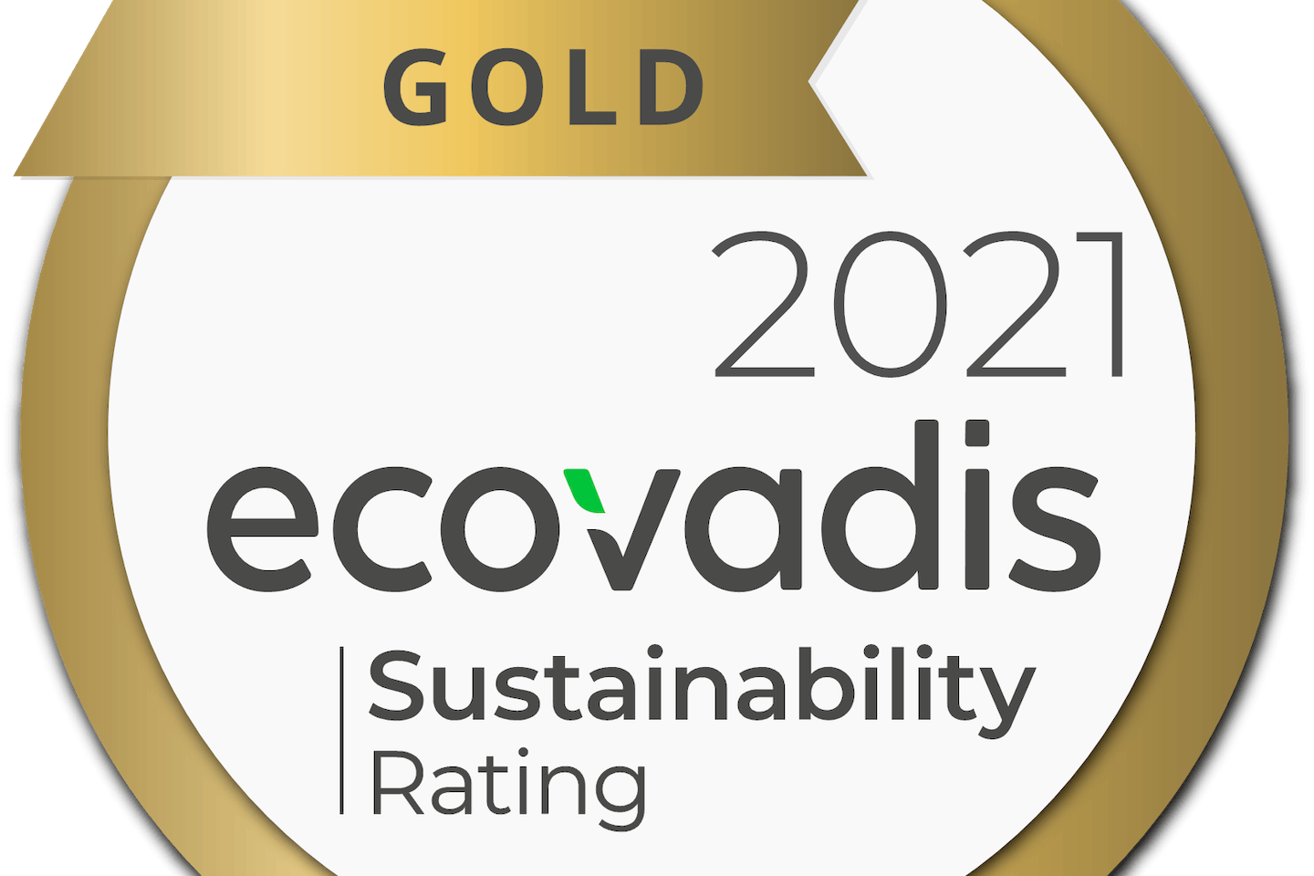 Nouryon awarded 2021 EcoVadis Gold rating for its sustainability achievements