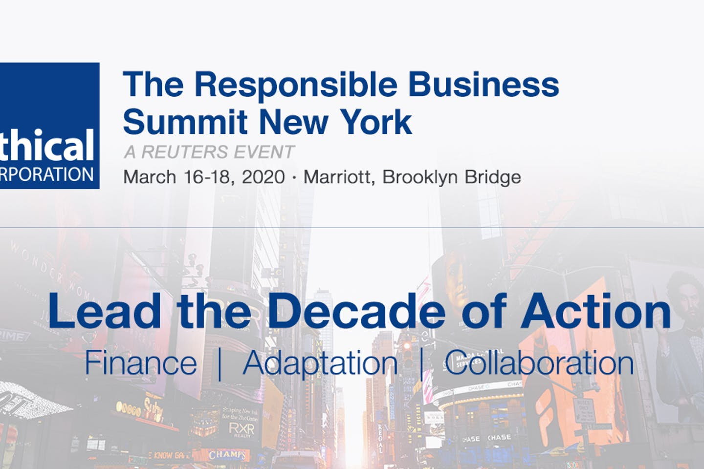The Responsible Business Summit New York returns for 2020