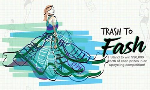 """""""Trash to Fash: An Upcycling Competition"""" challenges youths to design fashion for a sustainable future"""