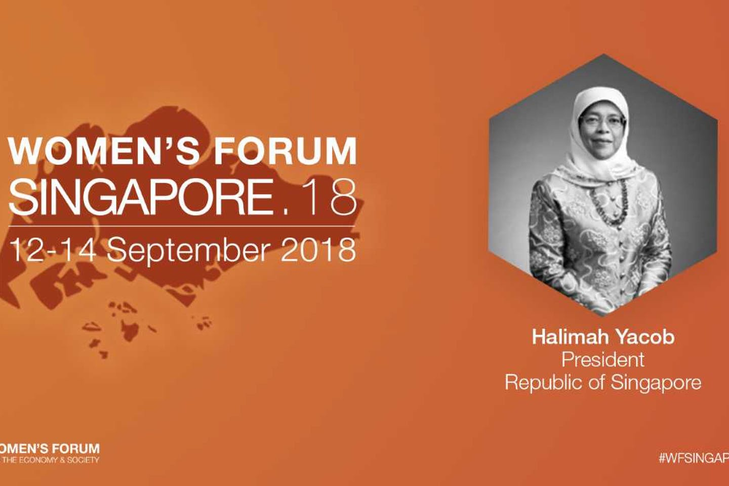 President of the Republic of Singapore to keynote Women's Forum Singapore 2018