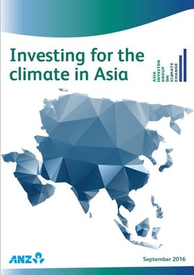 Investing for the climate in Asia