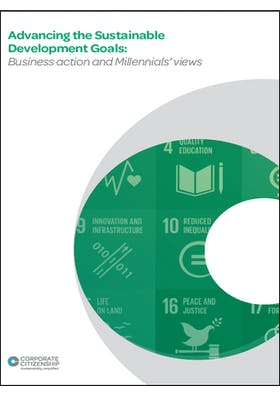 Advancing the Sustainable Development Goals: Business action and millennial's perspective