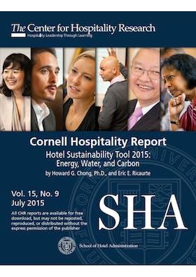 Hotel Sustainability Tool 2015