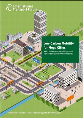 Low-carbon mobility for mega cities: What different policies mean for urban emissions in China and India