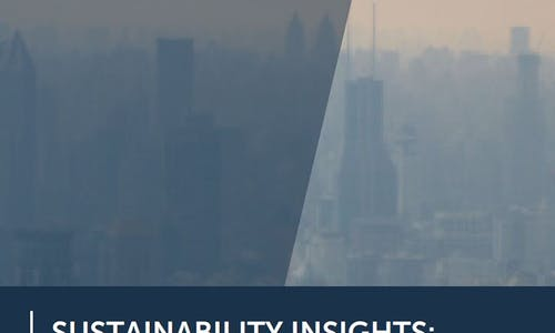 Air pollution in China – Sustainability insights