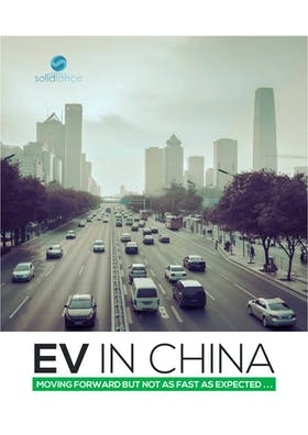 Electric vehicle in China: Moving forward, but not as fast as expected