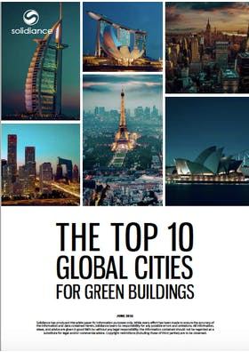 The Top 10 global cities for green buildings
