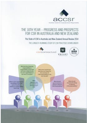 The State of CSR in Australia and New Zealand Annual Review 2014