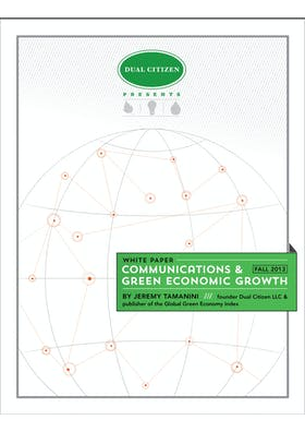 Communications and Green Economic Growth
