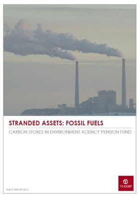 Stranded Assets: Fossil fuels: Carbon Stores in Environment Agency Pension Fund