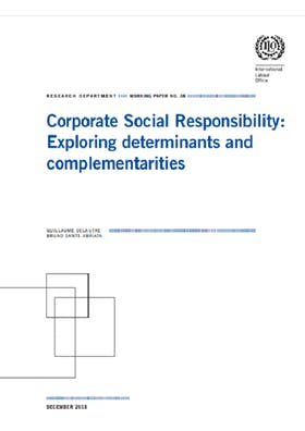 ILO publishes new paper on integrating international social standards into corporate strategies, based on Vigeo Eiris data