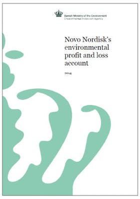 Novo Nordisk's environmental profit and loss account