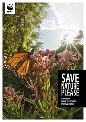 Behaviour change—save nature please