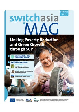 Linking poverty reduction with green growth through SCP