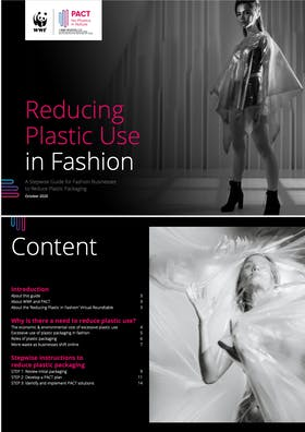 Reducing plastic use in fashion: A stepwise guide for fashion businesses to reduce plastic packaging