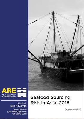 Seafood sourcing risks in Asia