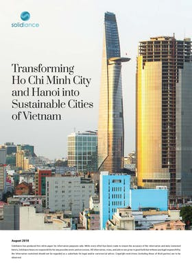 Transforming Ho Chi Minh City and Hanoi into Sustainable Cities of Vietnam