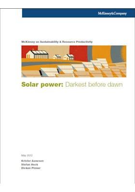Solar power: Darkest before dawn