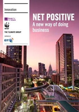 Net positive: A new way of doing business