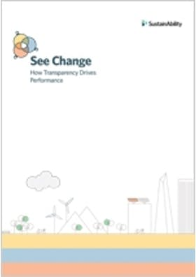 See change: How transparency drives performance