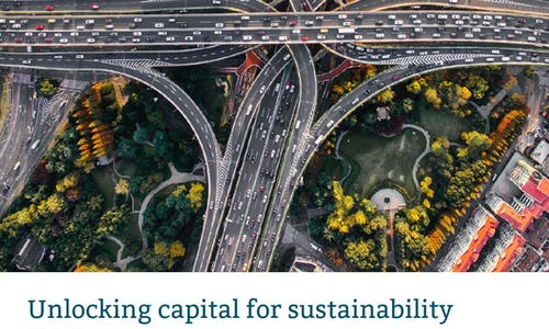 Unlocking capital for sustainability