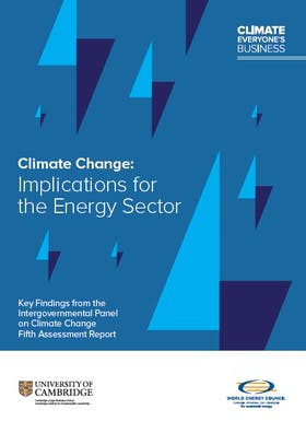 Energy sector faces increasing pressures from climate change - new report