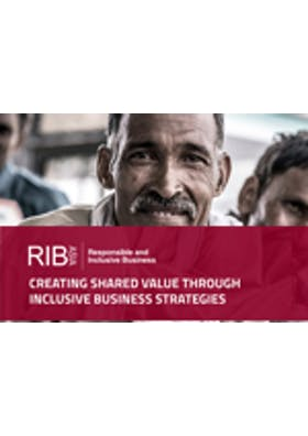 Creating shared value through inclusive business strategies